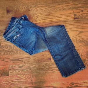 Diesel Jeans (woman's), blue wash
